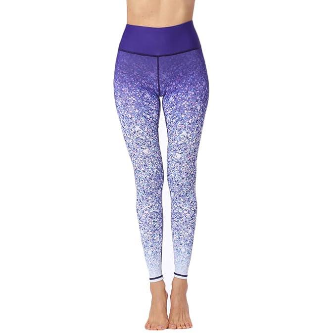 Gysad Patrón Yoga Lentejuelas Deportivos De Pantalones y7Yfv6Ibg