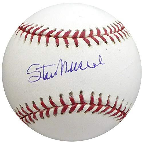 Stan Musial Autographed Signed Memorabilia MLB Baseball St. Louis Cardinals Beckett H10191
