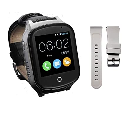 61f12a67c 3G GPS Smart Watch Phone for Kids Elderly, KKBear Real-time Tracking, Geo