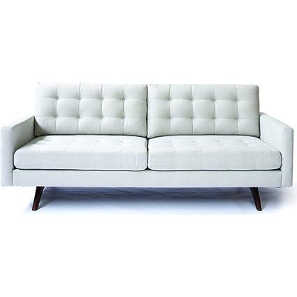 amazon com ion design justus sofa gray wood kitchen dining