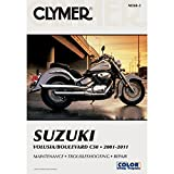 Suzuki Volusia/Boulevard C50 2001-2011 (Clymer Manuals: Motorcycle Repair) by Morlan, Mike Published by Clymer Publishing 3rd (third) edition (2012) Paperback