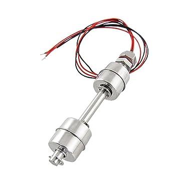 SODIAL(R) Sensor del Nivel de Liquido con Cable Dual Bola Acero Inoxidable Interruptor de Flotador: Amazon.es: Bricolaje y herramientas