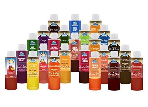 Sodastream Flavor Samples MEGA PACK | Ralph's Sparkling Drink (Mega Pack Vanilla Flavor)