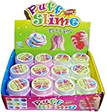 Fluffy Milky Puff Slime (12 Pack)