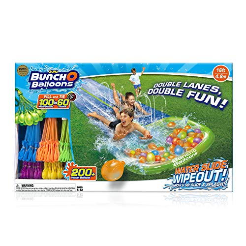 🥇 Bunch O Balloons Water Slide Wipeout