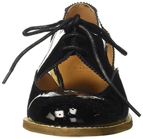 CINTI Sy234-p288 - zapatos Brogue Mujer negro