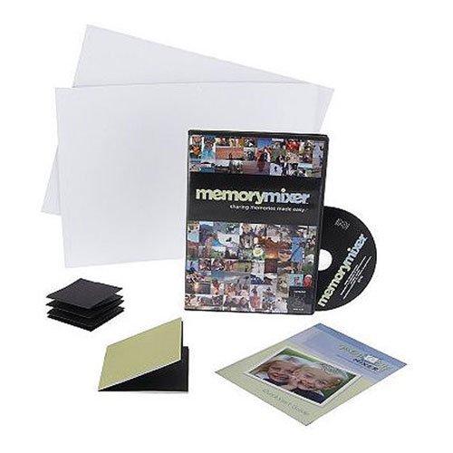 Digital Scrapbooking Kit - Includes MemoryMixer 3 Digital Scrapbooking Software for Mac & PC and Printable Scrapbook Accessories