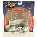 2002 - Action - NASCAR - Winner's Circle - Double Platinum Series - Dale Jarrett #88 - 1:43 Scale Die Cast - 2 DP Trading Cards - UPS Racing - Muppet Show 25 Years - Limited Edition - Collectible