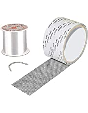 Window Screen Repair kit Tape for Screen Door Mesh Screen Patch Repair Kits with Waterproof Strong Adhesive Seal for Patching Holes and Tears, 1.97 x 78.74in