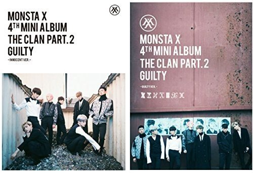 CD : Monsta X - Clan 2.5 Part.2 Guilty (Asia - Import)