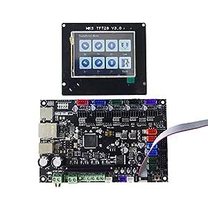 SODIAL Impresora de 3D Tabla de Control DE 32 bits MKS SBASE V1.3 ...
