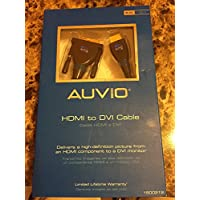 Auvio HDMI to DVI Cable 6-ft.