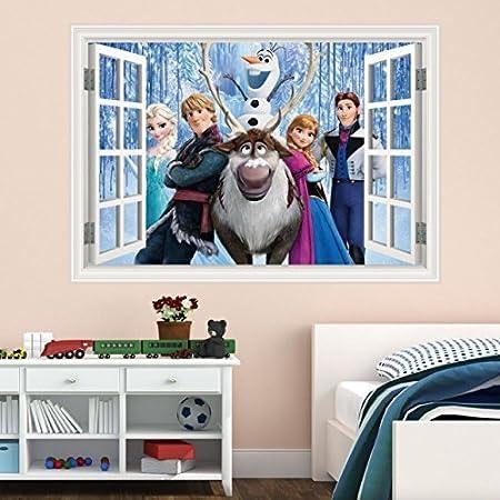Disney Frozen Decals Wall Window Sticker