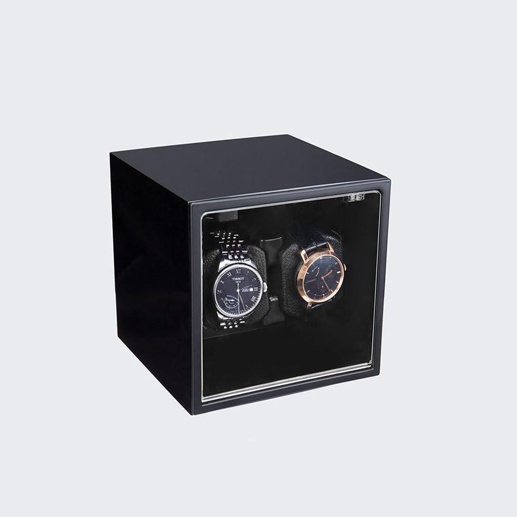 Caja de Reloj - Bolsa de Reloj Caja de exhibición del Reloj Mesa de Batidos Bandeja giratoria Caja de Almacenamiento de Joyas Mira enrollador Caja de Almacenamiento (Color : C): Amazon.es: Hogar