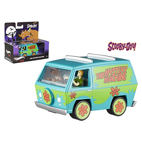 Scooby Doo Mystery Machine With Mini Figures Elite 1/50 Diecast Model by Hotwheels