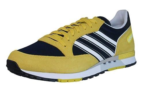 adidas Phantom Mens TrainersShoes Blue & Yellow SIZE UK