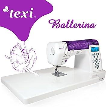 TEXI Ballerina - Computergesteuerte Nähmaschine - 200 Stichmuster ...
