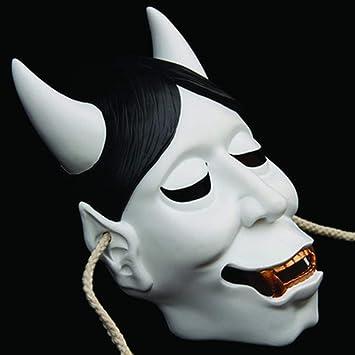 SASA Máscara de Resina Fina máscara de Fantasma Blanco máscara de la Cabeza Fantasma Cosplay