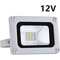 10W LED Floodlight IP65 Impermeable 12V Baja presión