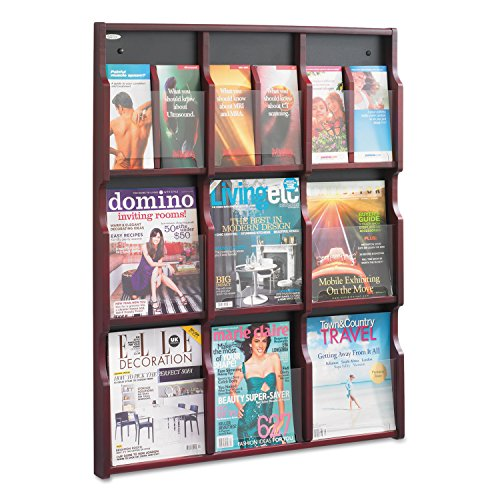 Magazine Literature Display (Safco Products 5702MH Expose Literature Display, 9 Magazine 18 Pamphlet,)