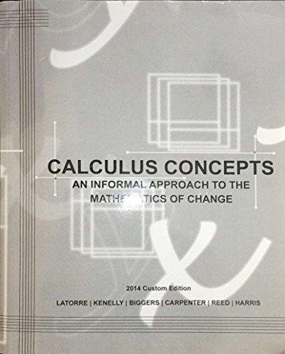 Calculus Concepts