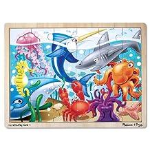 Melissa & Doug Wooden Jigsaw Puzzle - Under The Sea