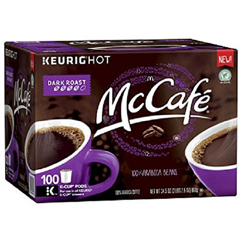 McCafé Dark Roast Coffee Single Serve Pods (100 ct.) by McCafe
