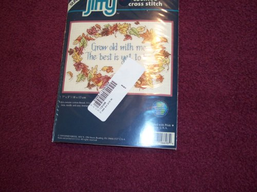 Counted Cross Kit Jiffy Stitch (Grow Old with Me Counted Cross Stitch Kit)