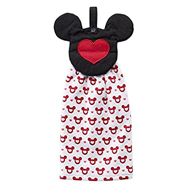 Disney Mickey Mouse / Minnie Mouse Tie Top Kitchen Towel