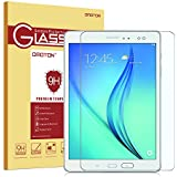 Samsung Galaxy Tab A 9.7 Glass Screen Protector, OMOTON 0.26mm Tempered-Glass Protector with [9H Hardness] [Crystal Clear] [Scratch-Resistant] [Bubble Free Easy Installation], Lifetime Warranty