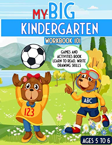 My Big Kindergarten Workbook 101 Games And Activities Book Learn To Read Write Drawing Skills My Big Workbook Zone The Big Learning 9798640976458 Amazon Com Books