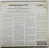 Francescatti - Sarasate: Zigeunerweisen; Saint-Saens: Havanaise; Saint-Saens: Introduction and Rondo Capriccioso; Chausson: Poeme / The Philadelphia Orchestra; Eugene Ormandy, Conductor