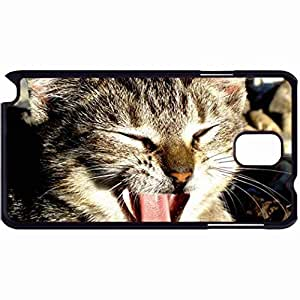 New Style Customized Back Cover Case For Samsung Galaxy Note 3 Hardshell Case, Back Cover Design Cat Personalized Unique Case For Samsung Note 3 wangjiang maoyi by lolosakes