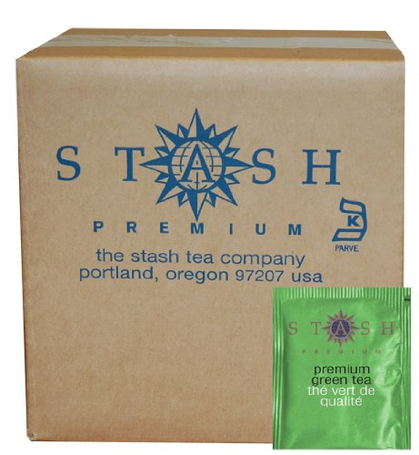 Stash Tea Premium Green Tea, 100 Count Box of Tea Bags in Foil (packaging may vary)