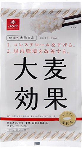 Hakubaku (functional display food) barley effect 360gX6 bags by Hakubaku