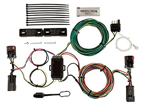 51zjCy9rszL._SX463_ amazon com blue ox bx88283 ez light wiring harness kit for dodge dodge wiring harness for towing at crackthecode.co