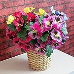 MARJON-FlowersDouble-Purple-5-Fork-Pansy-Artificial-Flower-Silk-Flower-Artificial-Flower-Home-Wedding-Garden-Decor-Height-26cm-Flower-Head-Diameter