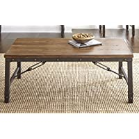 Steve Silver Ashford Coffee Table in Antiqued Honey
