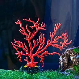 Saim Aquarium Decor Fish Tank Decoration Coral Ornament