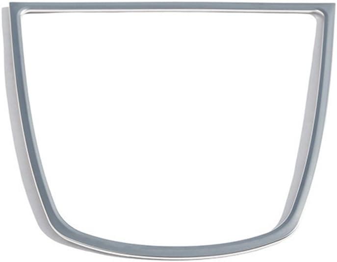 Auto Interior Decoraci/ón ABS cromado marco de salpicadero de coche altavoces de coche pegatinas