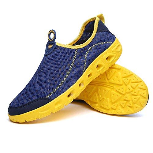 Männer Dunkelblau Schuhe Clog Schnell Sandalen Atmungsaktiv Trocknend rr8AqP
