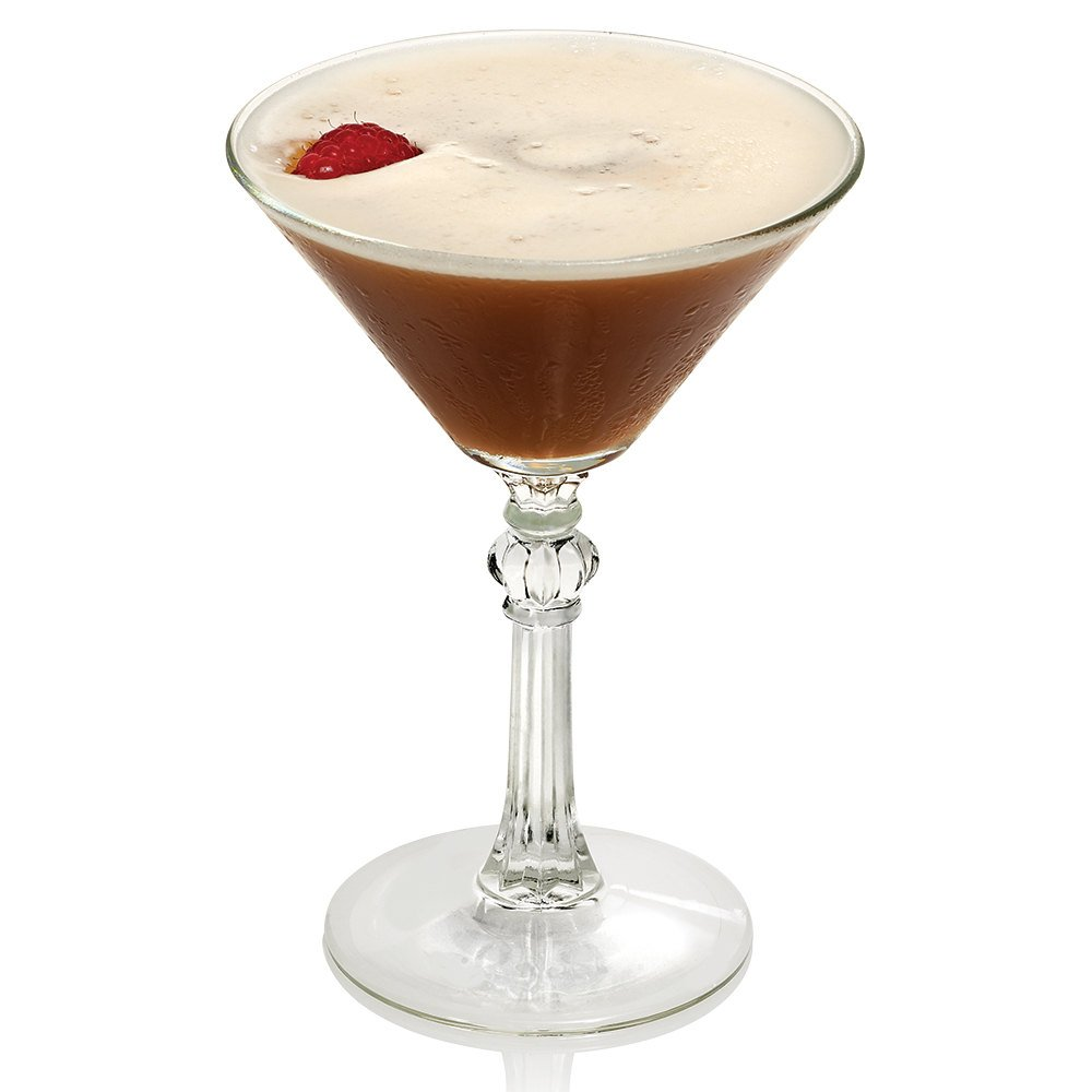 Libbey 8882 Art Deco 4.5 oz Martini Glass, Set of 6 with Bonus FDL Picks