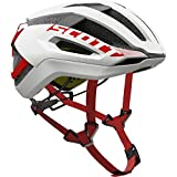 Scott Centric PLUS Bike Helmet – White/Red Large For Sale