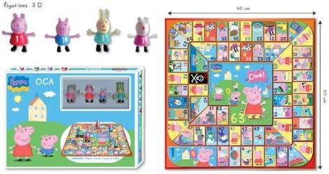 Peppa Pig - Juego de la oca (United Labels 811057): Amazon.es: Juguetes y juegos