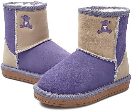 Moin botas de nieve cortos para niña Zapatos de moda Teddy zapatos  calientes de algodón  Amazon.es  Zapatos y complementos 6ba9d8865fd3a