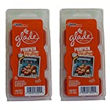 12 Glade Wax Melts Pumpkin Pit Stop Spice Limited Edition (2 x 6 Packs)