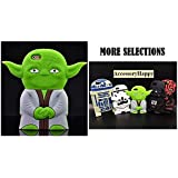 [FAST SHIP USA!] Cartoon 3D STAR WARS iPhone SE Soft Silicone Case Cover For iPhone 5/5S/5SE (SW Master Yoda)