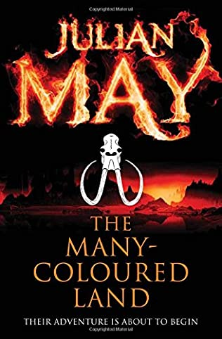 book cover of The Many-Coloured Land