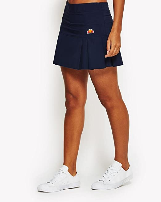 Ellesse SCW03223 Falda Pantalón de Tenis, Mujer, (Peacoat), 38 ...
