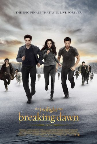 """TWILIGHT BREAKING DAWN PART 2 """"D"""" 11.5x17 INCH PROMO MOVIE POSTER"""